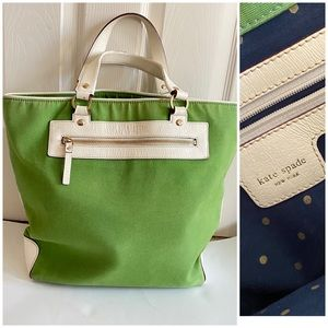 Kate Spade Canvas Tote Bag Extra Large